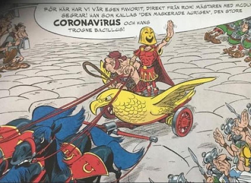 Asterix och det stora loppet.
