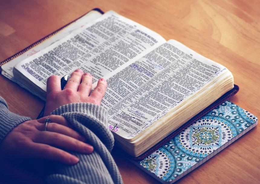 Studiu biblic.