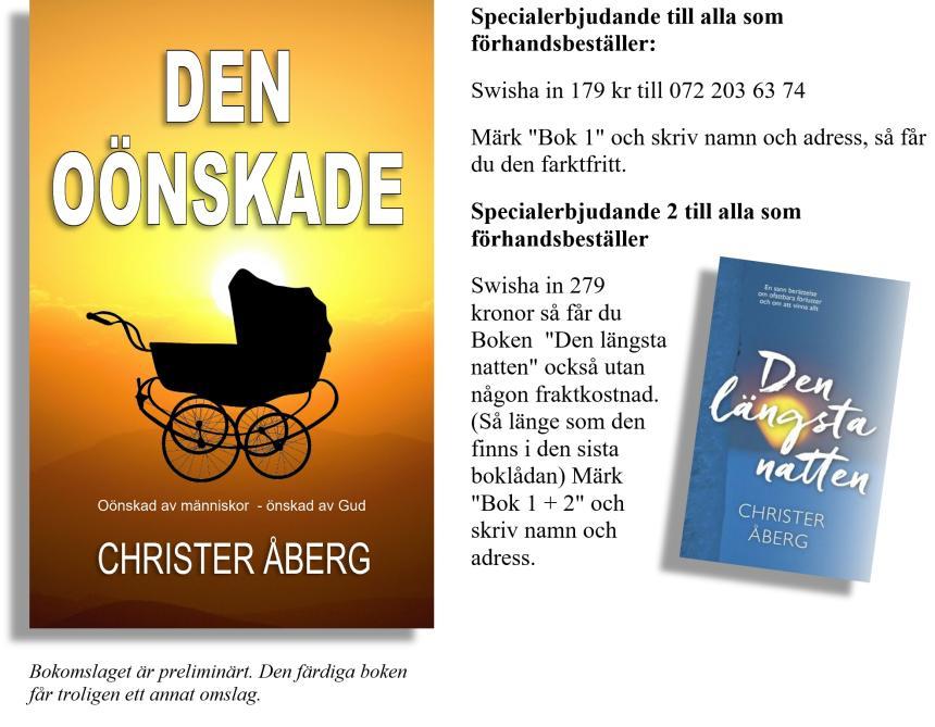 Den oönskade + Den längsta natten av Christer Åberg.