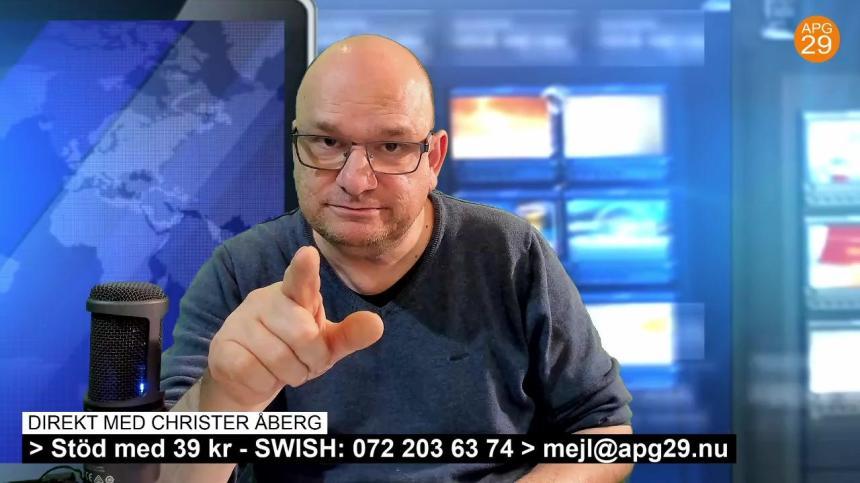 Christer Åberg live.