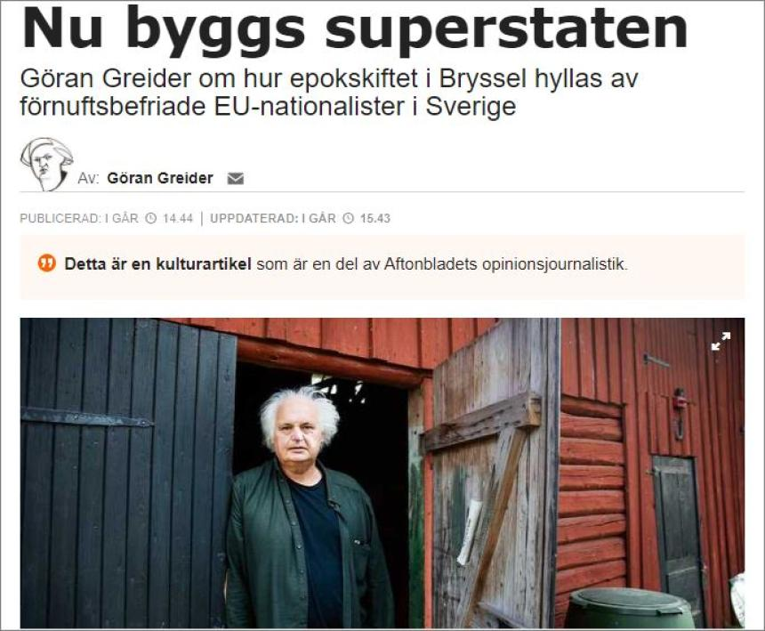 Eu superstat.