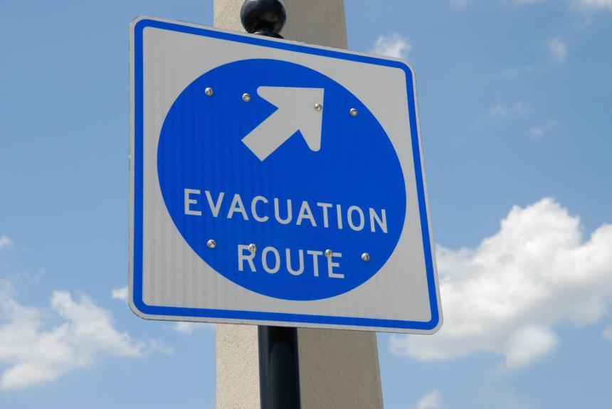 De frälstas evakuering