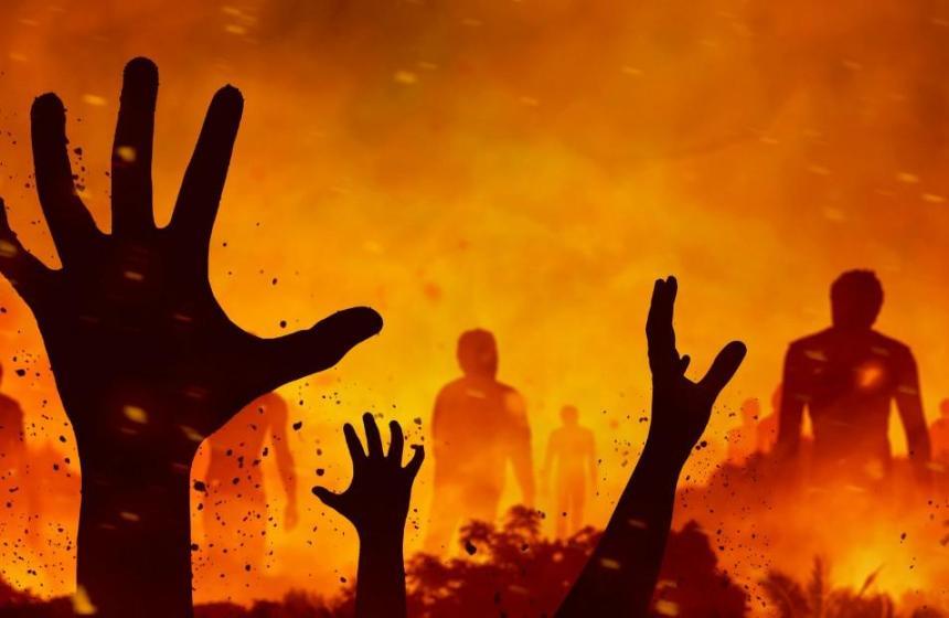 Är det någon som vill kastas i helvetets eld?