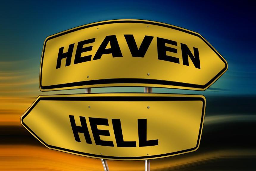 Hur skall man se på frågan om himmel och helvete?