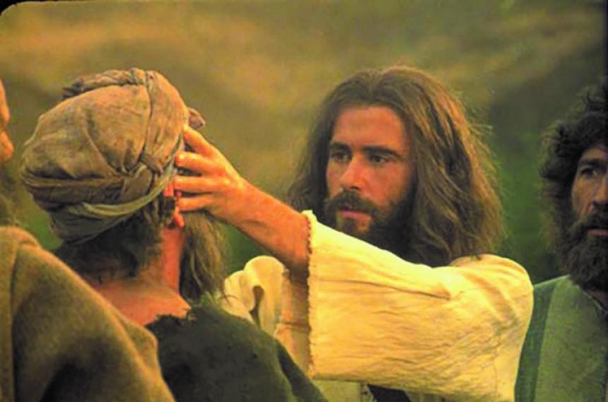 Jesus botar sjuka.