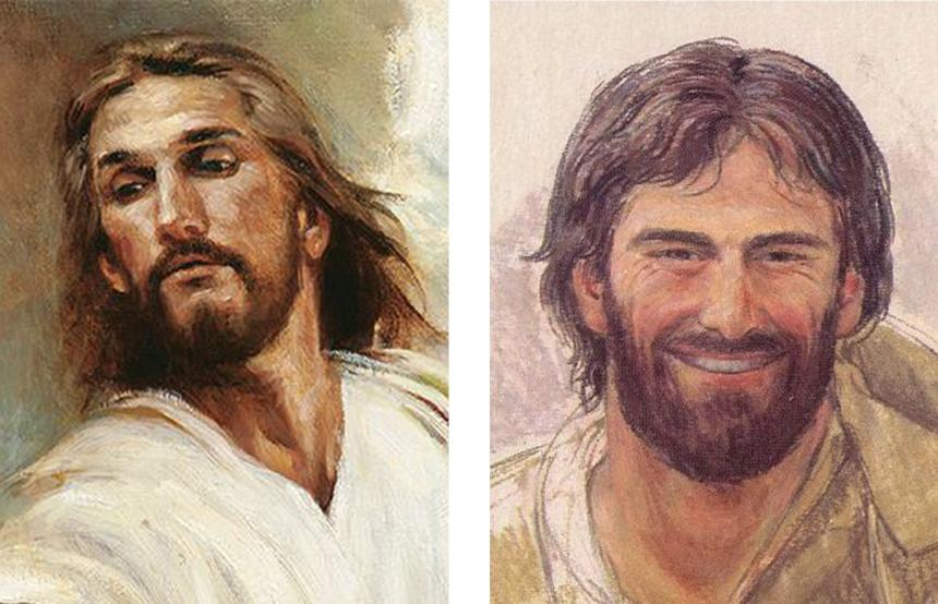 Jesús hefur lengi eða stutt hár?
