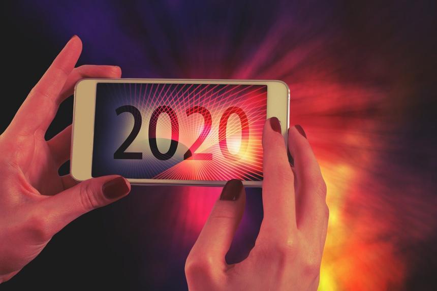 Mobil, nytt år 2020.