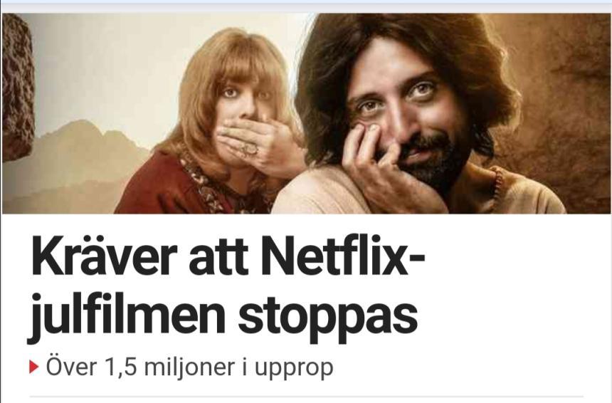 Netflix hädar Jesus.