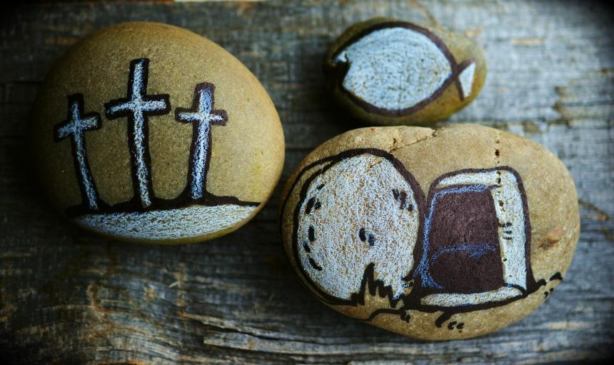 Påsk - Jesu död och uppståndelse.