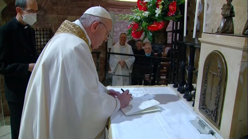 Påvens plan: Rädda mänskligheten utan Jesus