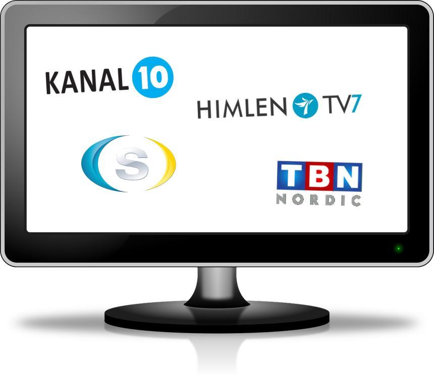 Kristna tv-kanaler i Sverige.