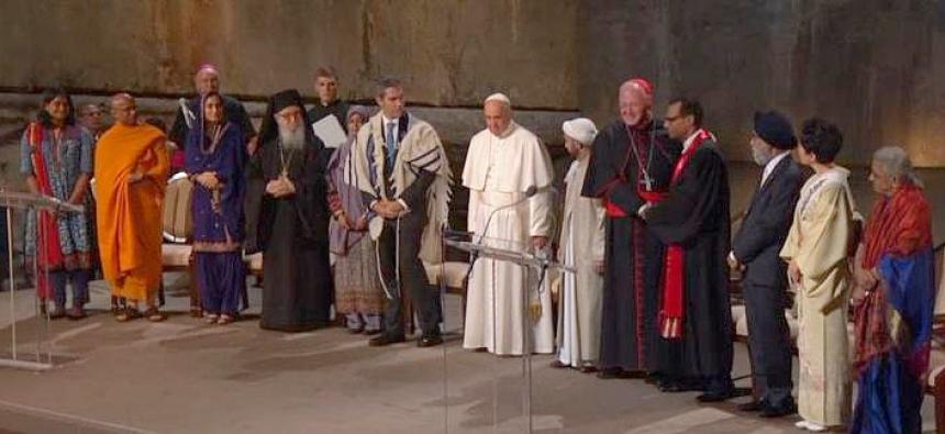 Påvens världsreligion